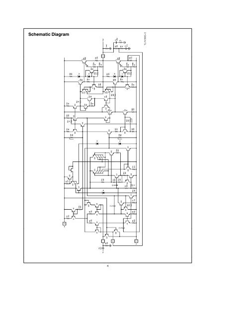 Schematic Diagram TLH5030