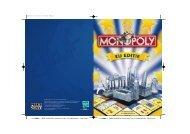 090115283104 EURO MONOPOLY Instructions (NL ... - Spelregels