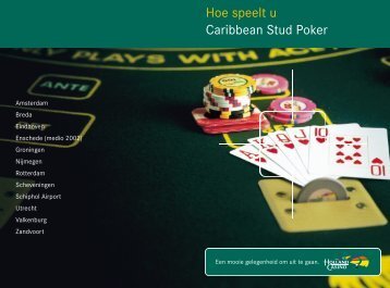 Hoe speelt u Caribbean Stud Poker - Spelregels