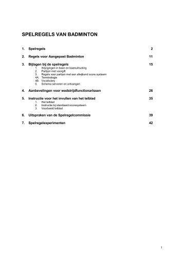 Bijscholing: Tactiek in badminton (deel 2) - Badmintonline Badminton Spelregels