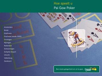 Hoe speelt u Pai Gow Poker - Spelregels