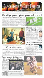 Blackstone Valley Tribune - Southbridge Evening News