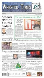 webster - Southbridge Evening News