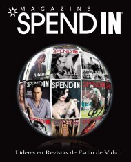 Líderes en Revistas de Estilo de Vida - Spend In