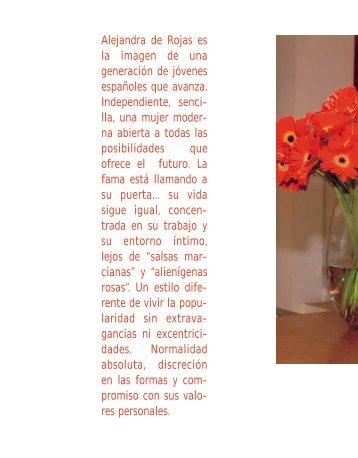 Alejandra de Rojas es la imagen de una generación de ... - Spend In