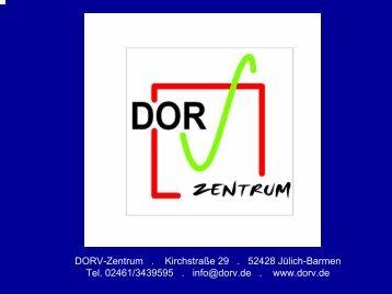 DORV - Dienstleistung und Ortsnahe Rundum ... - LQN-LEADER