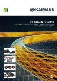Gesamtpreisliste 2013 - Spezial-Baustoffe