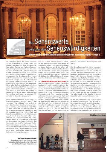 Das Sehenswerte..., Folge 7 - Spezialatlas zum Taxischein für Berlin