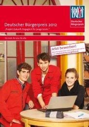 Deutscher Bürgerpreis 2012 - Speyer-Kurier