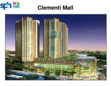 Clementi Mall - Singapore Press Holdings