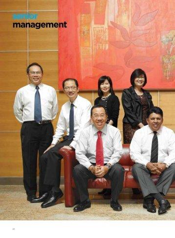 Senior Management (p28) - Singapore Press Holdings