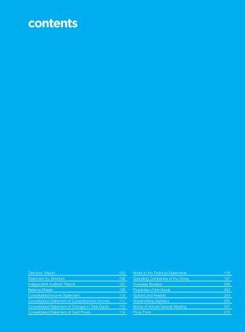 Financial Contents (p101) - Singapore Press Holdings