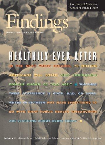 Remaning Issue - University of Michigan School of Public Health