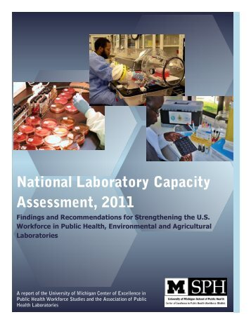 National Laboratory Capacity Assessment, 2011 - University of ...