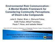 A mental models framework for considering perceptions of dioxin ...