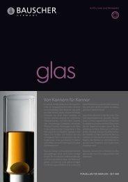 Glas. - Bauscher
