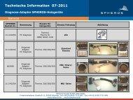 Technische Information 07-2011 - Spheros