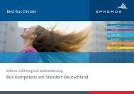 Bus-Kompetenz am Standort Deutschland 2012 - Spheros