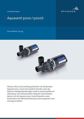 Aquavent 5000 / 5000S - Spheros