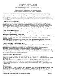 AFFENSTARK - Sphinx Spieleverlag