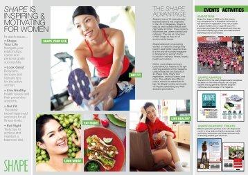 1f0d482ac29 SHAPE is inspiring   motivating for women - SPH Magazines
