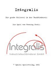 Integralis - Sphinx Spieleverlag