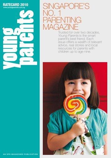 SINGAPORE'S NO. 1 PARENTING MAGAZINE - SPH Magazines