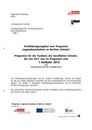 download Programm 1. Halbjahr 2012 für alle - Jugendsozialarbeit ...