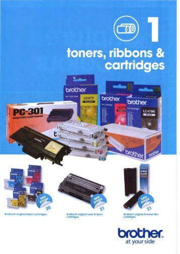 Toner, Ribbons and Cartrid
