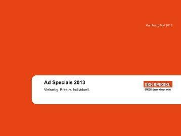 Ad Specials 2013 - Spiegel-QC
