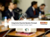 Integriertes Keynote-Speaker-Konzept - Spiegel-QC
