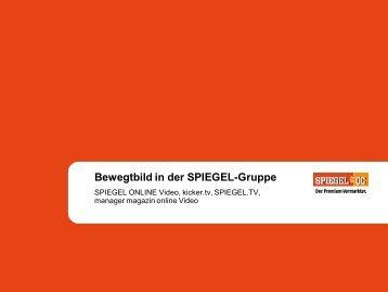 Bewegtbild in der SPIEGEL-Gruppe - Spiegel-QC