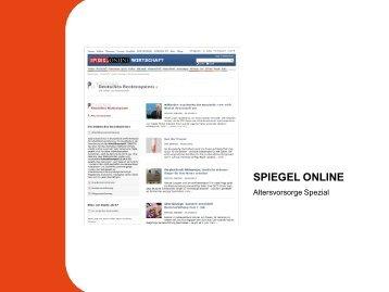 Spezial: Altersvorsorge - Spiegel-QC