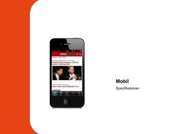 Spezifikationen Mobil - Spiegel-QC