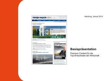 Objektpräsentation manager magazin online - Spiegel-QC