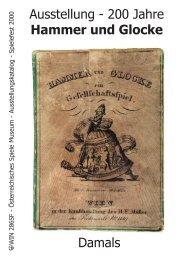 Ausstellung - 200 Jahre Hammer und Glocke Damals