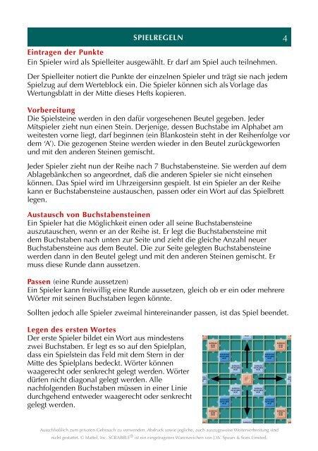 Scrabble Blankostein
