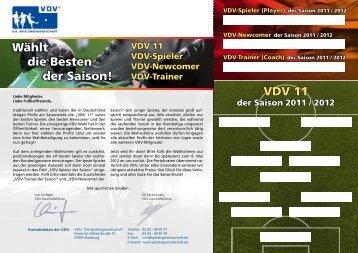 VDV-Wahlkarte 2012