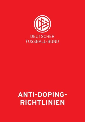 ANTI-DOPING- RICHTLINIEN