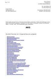 AKG Preisliste * Crazy Events Veranstaltungstechnik Verkaufsangebot