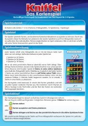 65 Karten (die Zahlen 1-13 in 5 Farben), 4 ... - Schmidt Spiele