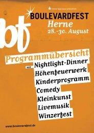 www.boulevardfest.de mit - Spielezentrum Herne