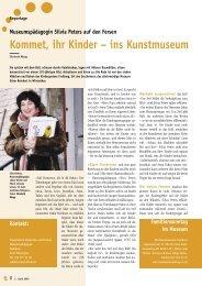 Kommet, ihr Kinder – ins Kunstmuseum