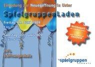 SpielgruppenLaden - IG Spielgruppen