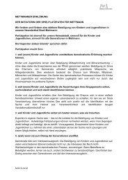 Seite 1 von 2 METTMANNER ERKLÄRUNG DER INITIATORIN DER ...