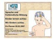 Sprache und frühkindliche Bildung Kinder lernen ... - SpielundLern.de