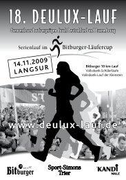 18. Deulux-lauf - Läufergruppe Langsur