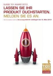Flyer - Spielwaren Verband Schweiz SVS