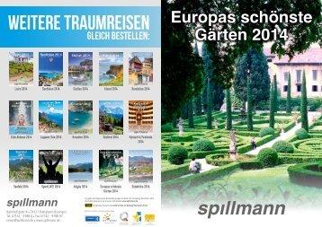 Europas schönste Gärten 2014 - Spillmann