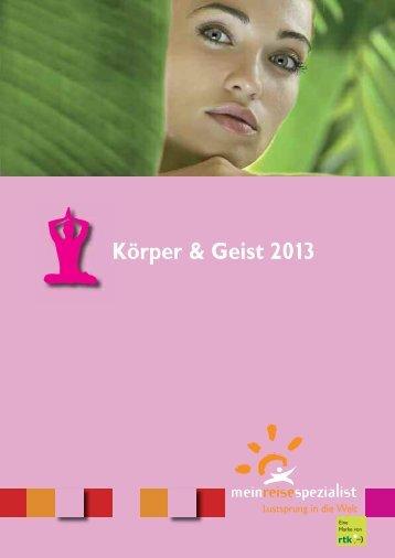 Körper & Geist 2013 - Spillmann